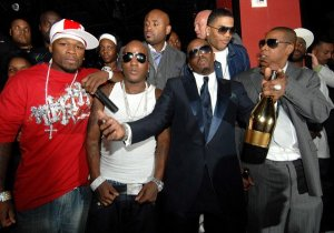 jay-z 50 cent diddy Armand de Blignac_Ace of spade