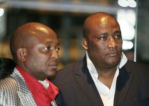 Kenny Kunene and Gayton Mckenzie CRG