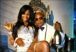 Khanyisile Mbau photos with Kenny Kunene