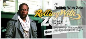 Rolling with Zola on ETV  starts  Sundays 25th September