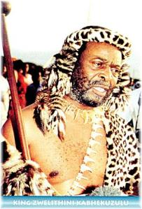Zulu King Goodwill Zwelithini Reed Dance