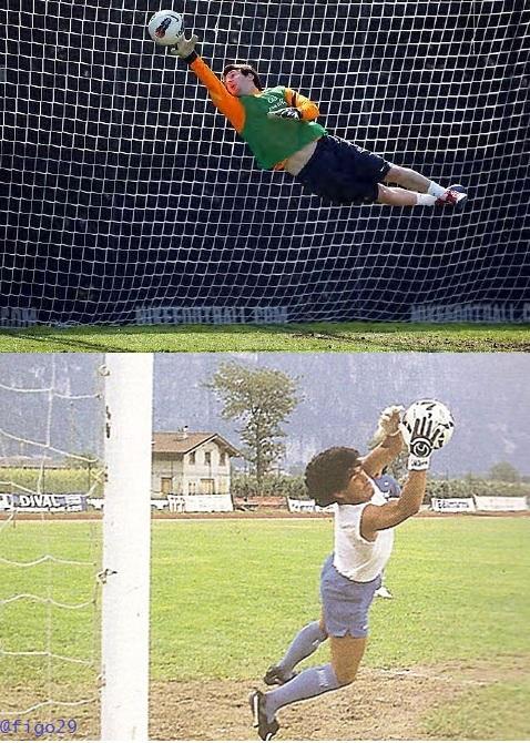 messi-vs-maradona goalkeepers