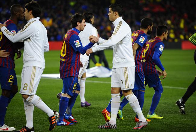 Ronaldo vs Messi goal scoring