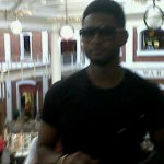 Usher snooping in Cape Town
