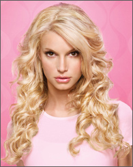 Jessica simpson clip in hair extensions