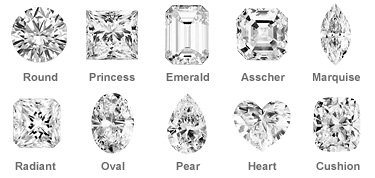 diamond ring shapes